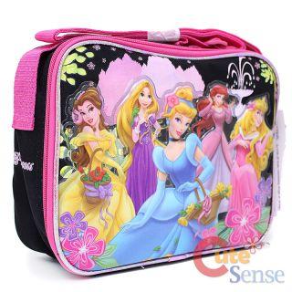 Disney Princess School Backpack Large Bag Lunch bag set 6