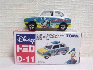 Tomy Tomica Disney Motor Honda D 11 Donald Duck Car