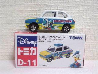 Tomy Tomica Disney Motor Honda D 11 Donald Duck Car