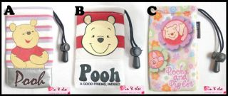 Pooh Disney Mobile Cell Phone iPhone Drawstring Case Pouch Cover