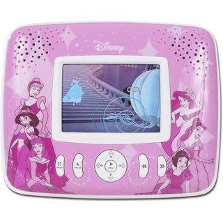 Disney Portable Personal DVD Player 3 5 Screen Princess Style