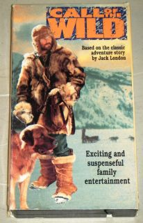 CALL OF THE WILD VHS MOVIE, Goodtimes Video 1976   John Beck & Bernard