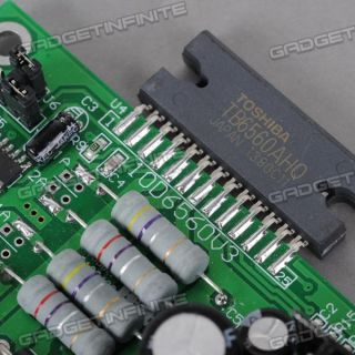 Single Axis 3A TB6560AHQ Stepper Motor Driver Board for CNC Engraving