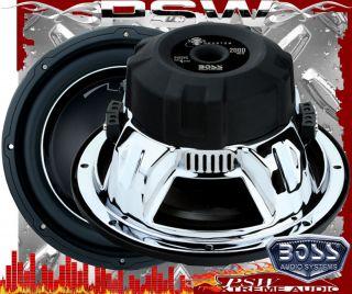 Watt 12 Subwofer Boss Audio Phantom Series Dual Voice Coil DVC