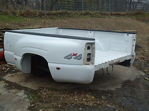 Sierra Chevy Silverado Pickup Dually Bed C3500 K3500 8ft White