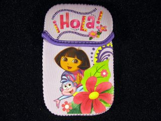 Dora The Explorer Nintendo DS DSi Neoprene Sleeve Case Pouch Camera
