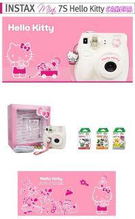Instax Mini Polaroid Hello Kitty Camera 7S 30 Films