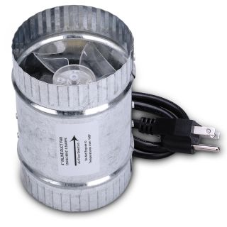Exhaust Blower 4 Cooling Vent Inline Ducting Fan Ventilation 36W A+