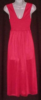 Hot Red Body Hugging Spandex Lace Waltz Nightgown Sz S