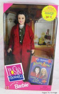 Rosie ODonnell Friend of Barbie Gay Interest Doll New