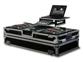 Odyssey DJ Coffin Case Fits Technics 1200 Pioneer mixer Serato and