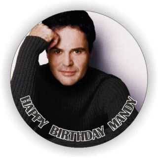 Donny Osmond Edible Icing Birthday Cake Toppers