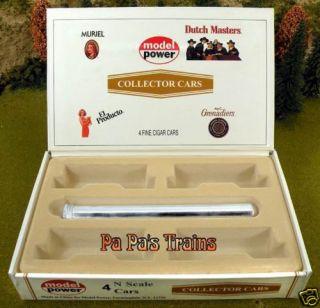 Dutch Masters Cigar Box for Train Cars N Scale by Model Power