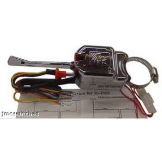 Dune Buggy Rail Chrome Universal Turn Signal Switch