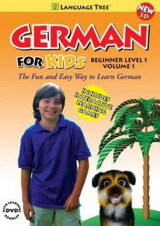 Beginner Level I Vol. 1   German Learning 3D DVD For Children Tree