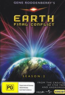 Earth Final Conflict Season 2 DVD 9337369001388