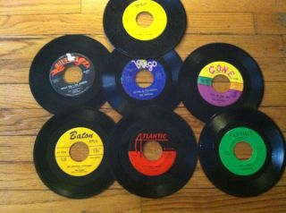 Doo Wop 7 45 RPM Record Lot of 7 RARE Obscure 1950s Records Cool