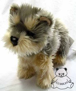 Yetti Yorkie Yorshire Terrier Dog Douglas Cuddle Plush Toy Stuffed