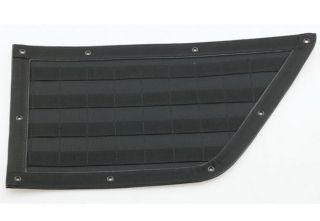 Smittybilt Gear Door Panel Front Pair Black Fits Jeep 97 06 Wrangler