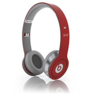 Monster Cable Dr Dre Beats Solo Hi Def Headphones Red