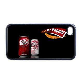 designs optional iphone 4 black case dp001 dr pepper 001