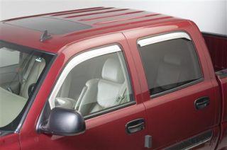2009 2012 Dodge RAM Quad Cab Chrome Window Vent Visors Putco 480139