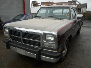 91 92 93 Dodge RAM 250 Pickup Automatic Transmission Cummins Auto 4x2