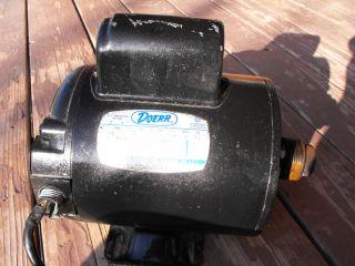Doerr 1HP Electric Air Compressor Motor