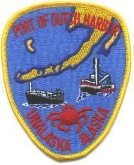 Dutch Harbor Alaska Port Authority Police Patch