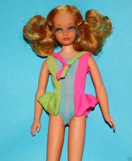 Adorable Living Skipper Vintage Mod Mattel Doll