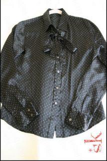 ZARA Massimo Dutti silk blouse shirt size L