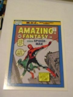 Marvel Universe 1990 Card 126 Amazing Fantasy 15