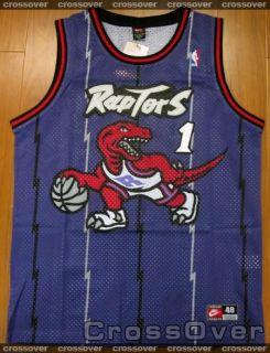 Toronto Raptors Tracy McGrady Classic Purple Jersey