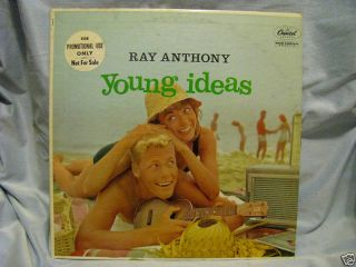 Ray Anthony LP Young Ideas Doug McClure Cheesecake