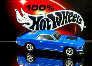 100 Hot Wheels 1970 70 Ford Mustang Boss 429 Limited Edition Real