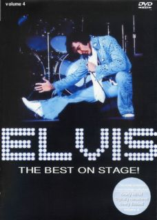 Elvis Presley The Best On Stage Vol 4 DVD New Release Sealed