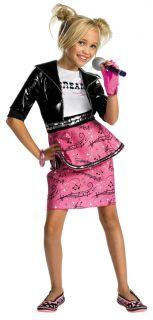 Hannah Montana Miley Cyrus Pop Star Child Costume 50457