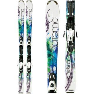 Womens SKIS Atomic Affinity Air 152cm Downhill Ski XTL 9 Bindings 2012