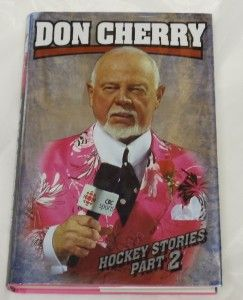 hockey stories part 2 don cherry hardcover book