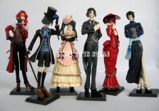 Black Butler Kuroshitsuji Ciel Japan Anime Figures Figurines Toy Set