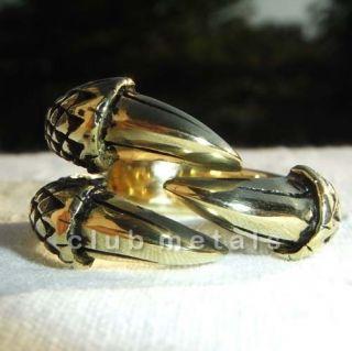 Wicked Three Talon Dragon Eagle Claw Mystic Power Ring