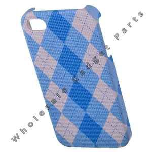 Hard Back Case for Apple iPhone 4 Blue Cover Skin Candy Shell