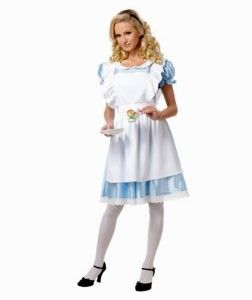 Alice Halloween Costume Tea Party Alice in Wonderland Theme Small S
