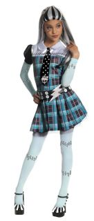 Monster High Frankie Stein Dress Up Costume Cool Birthday Party Theme