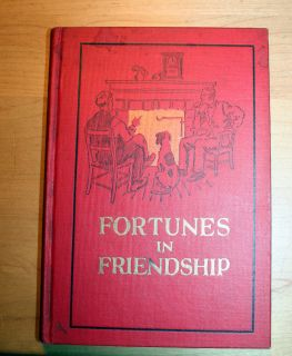 FORTUNES IN FRIENDSHIP POET BARTON REES POGUE SIGNED FIRST WILL VAWTER