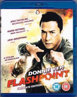 Edition Region Free Blu Ray New w Donnie Yen Flashpoint