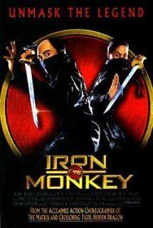 Iron Monkey Original 2 Sided Movie Poster Donnie Yen