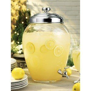 Charleston Glass Beverage Dispenser