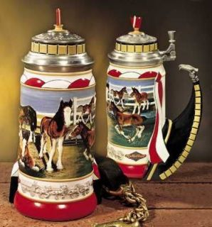 Budweiser Beer Stein, Clydesdales, Hitch Prospect