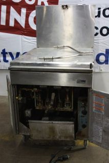 Pitco Commercial Donut Fryer 24RUFM Natural Gas W Filter System 80